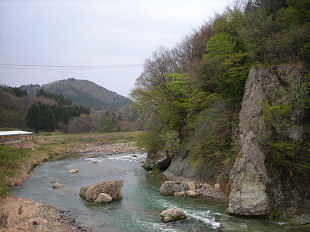 秋保・名取川